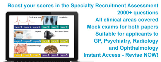 Specialty Recruitment Assessment Online Revision